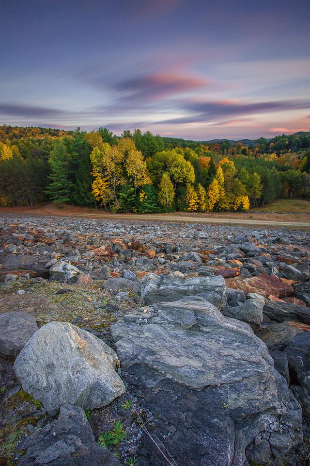 Autumn Evening. North Springfield, Vermont