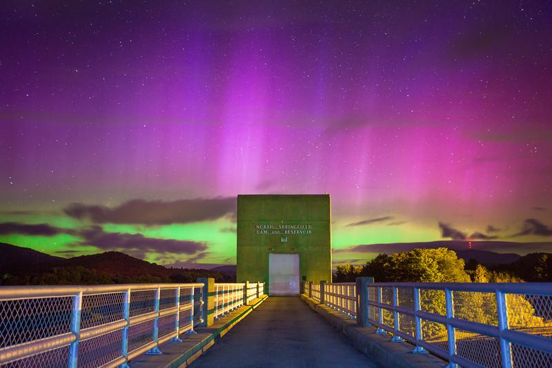Aurora Portal. North Springfield, Vermont