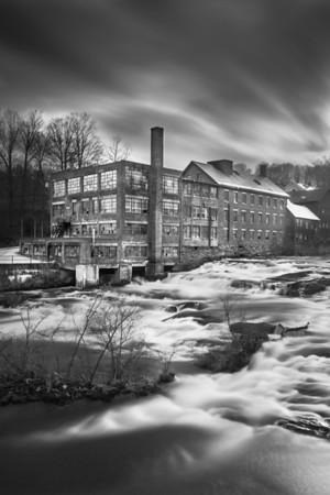 Comtu Falls, Black River Edition. Springfield, Vermont