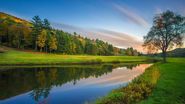 Grafton Pond. Grafton, Vermont