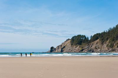 Oswald West State Park Beach, Oregon