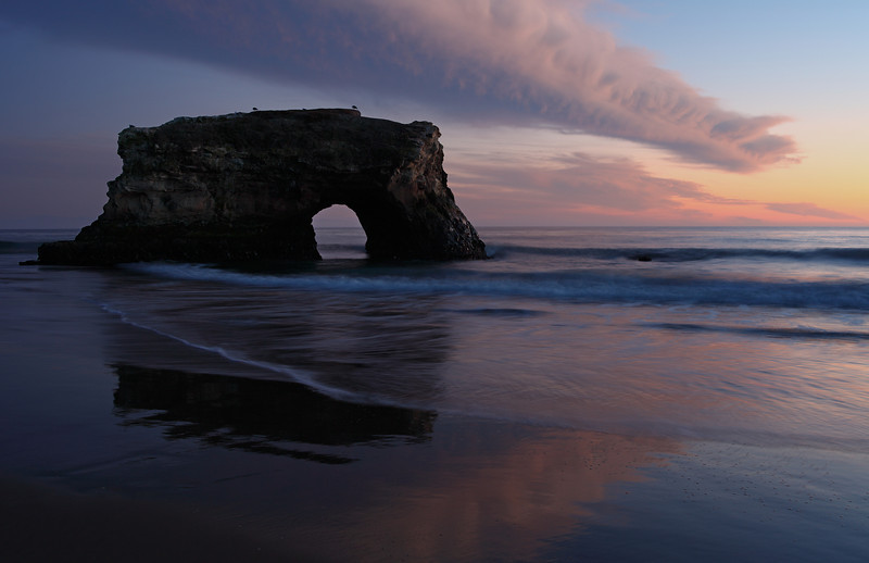 Natural Bridges in Winter