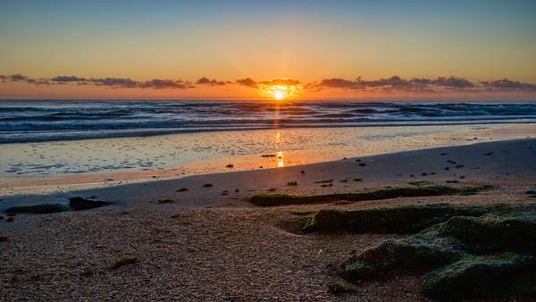 Sunrise on Hammock Beach