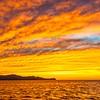 Sailing in Golden Splendor on the  Golfo de Papagayo, Costa Rica