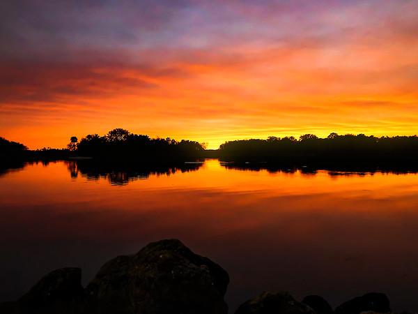 Sunset at Bing's Landing
