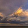 Glowing Beach Clouds