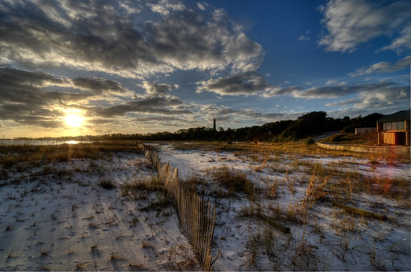 Barrancas Beach  Sunset