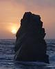 Monolith at Sunset