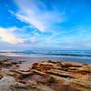 Rock Beach at Sunset