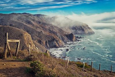 """Pirate's Cove and the Marin Headlands"" - Golden Gate National Recreation Area, California"