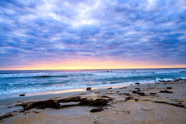 Morning on Hammock Beach