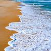 Foamy Beach Walk