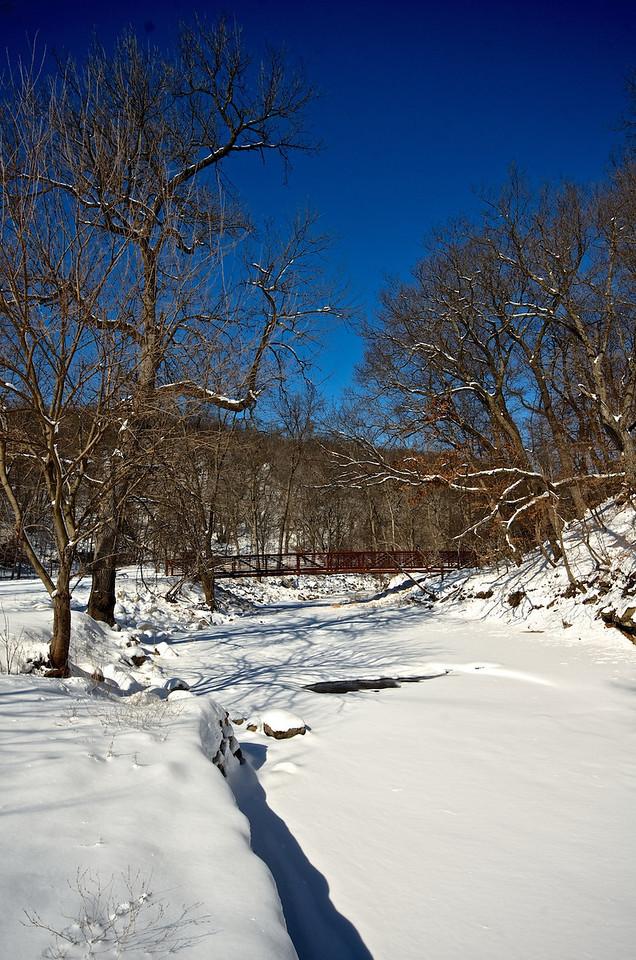 Snow by the River #133139 V
