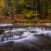 Fall Color Along The Stream In Letchfield State Park - Letchfield State Park, Upstate New York, NY