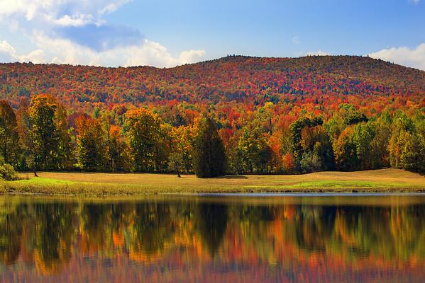 Mirrors Of Autumn - New Hamphire