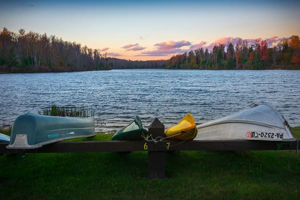 Lake Jean in Ricketts Glen State Park- Lake Jean, Pennsylvania