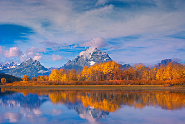 Autumn At It's Best - Oxbow Bend, Grand Tetons National Park, Wyoming