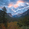 Tunnel View At Sunrise_Vertical - Lower Yosemite Valley, Yosemite National Park, CA