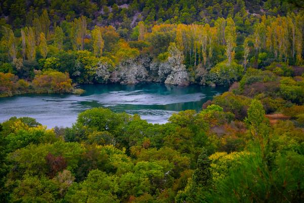 Pockets And Pools Of Color - Krka National Park, Split, Croatia