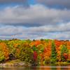 Color A Plenty Along The Shores Of The Lake