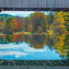 Under The Covered Bridge Of Reflections