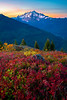 Mt Baker Sunrise In Autumn - North Cascades National Park, WA