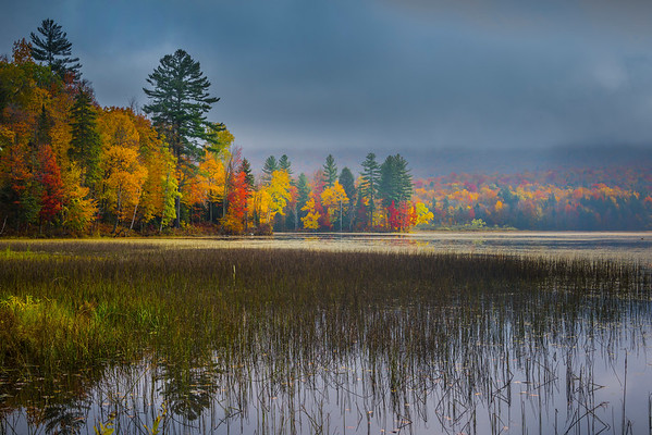 The Warmth Of The Sun Rays Across The Pond - Vermont