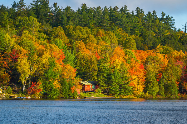 A Nice Little Cabin Along The Lake