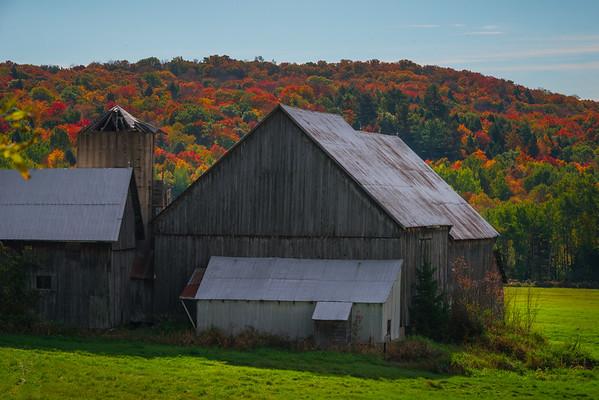 Rural Barns Outside Huntsville - Huntsville, South Part, Ontario, Canada