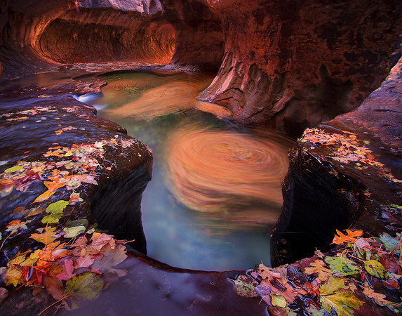Subway Autumn - The Subway, Zion National Park, Utah