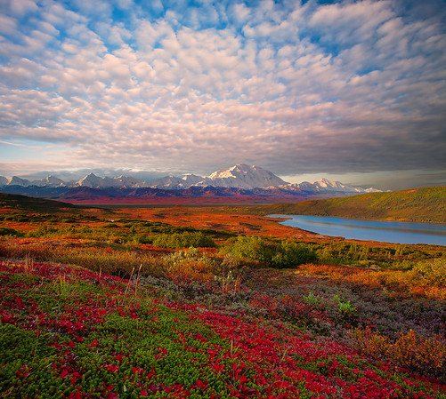 An Explosion Of Clouds Above Denali - Denali National Park, Alaska