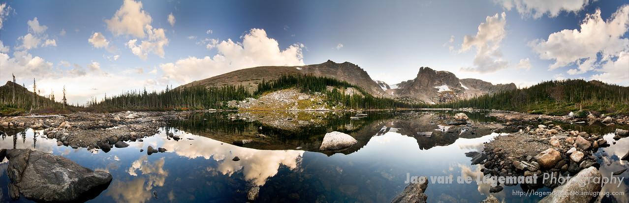 Two Rivers Lake panorama