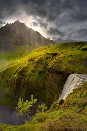 Let There Be Light - Skogasfoss Waterfall, Iceland
