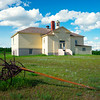 The Old Schoolhouse Of Alkabo -Alkabo Ghost Town, Little Missouri, North Dakota