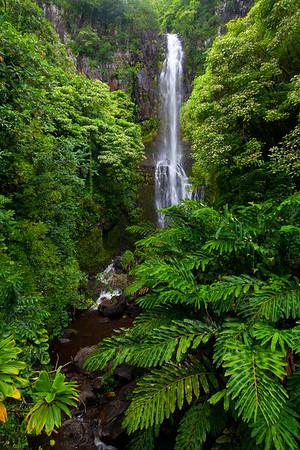 Kipahulu, Ohe'o Gulch, Seven Sacred Pools, Haleakala National Park, Maui, Hawaii