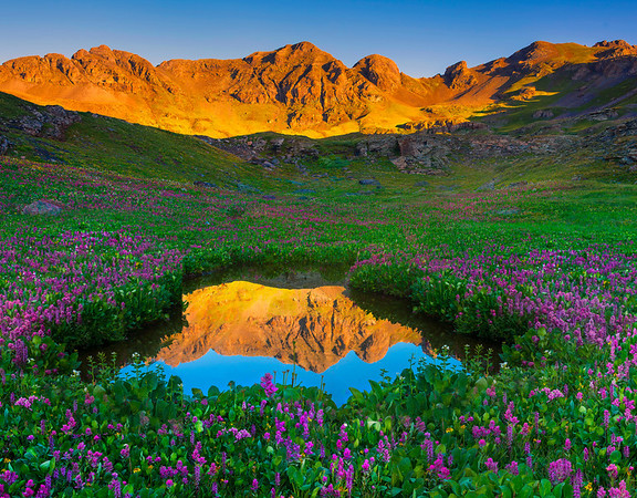 Reflections Surrounded By Color - San Juan Mountains, Colorado