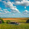 Left In The Yard - Alkabo Ghost Town, Little Missouri, North Dakota
