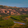 The Bend In Missouri River - Theodore Roosevelt National Park, North Dakota