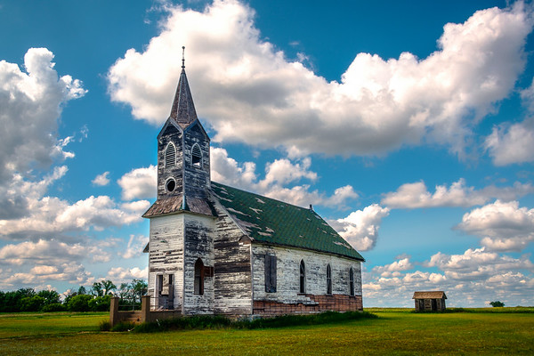 It Used To Be Where Things Were - Bethesda, Little Missouri, North Dakota