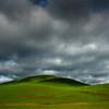 A Breakthrough In Light Under The Dark Clouds - The Palouse Region, Washington