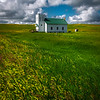 Fields Of Gold And Green - , Trotters, Little Missouri Grasslands, North Dakota
