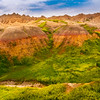 Rainbow Hill View - Badlands National Park, South Dakota