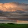 Layers Of Rainbow Clouds - The Palouse Region, Washington
