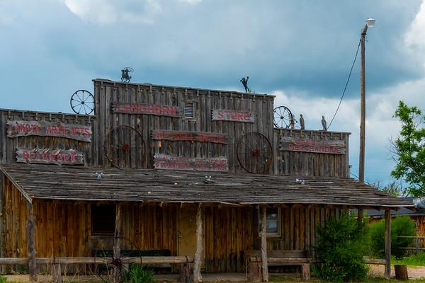 The Old Town - Badlands National Park, South Dakota