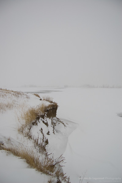Standley Lake in winter