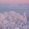 Overlooking Fairbanks On A Snowy Afternoon -Ester Dome, Fairbanks, Alaska