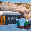 A Gold Panning Winter Town -Chena Hot Springs Resort, Fairbanks, Alaska