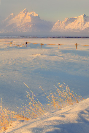Surreal Winter Morning - Grand Teton National Park, Wyoming