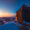 Sub Station On Overlooking Valley -Fairbanks, Mt Aurora Skiland, Alaska