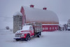 Palouse Under A Snowstorm - Colfax,  The Palouse,  Washington
